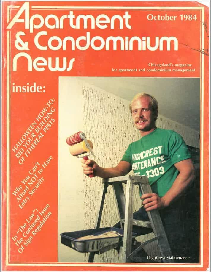 1984 cover Apartment Condominium News