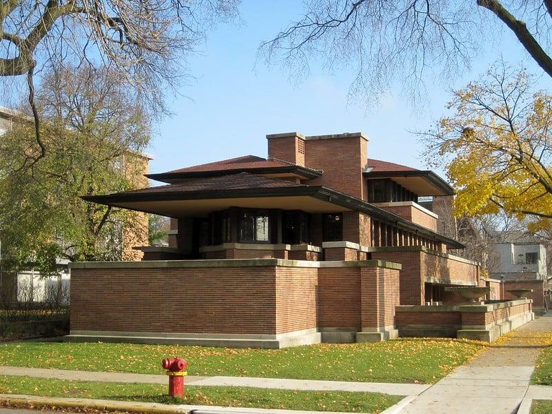 National Landmark Frederick C. Robie House