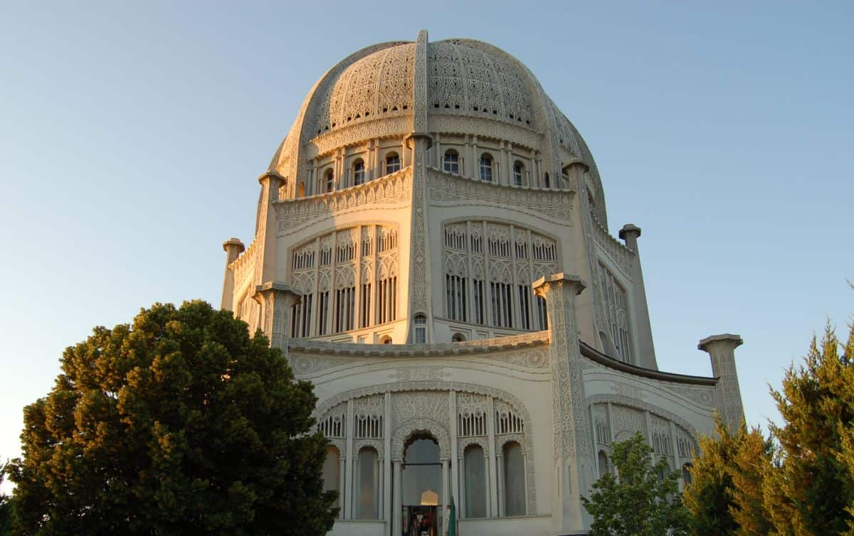 Bahai Temple in Wilmette IL