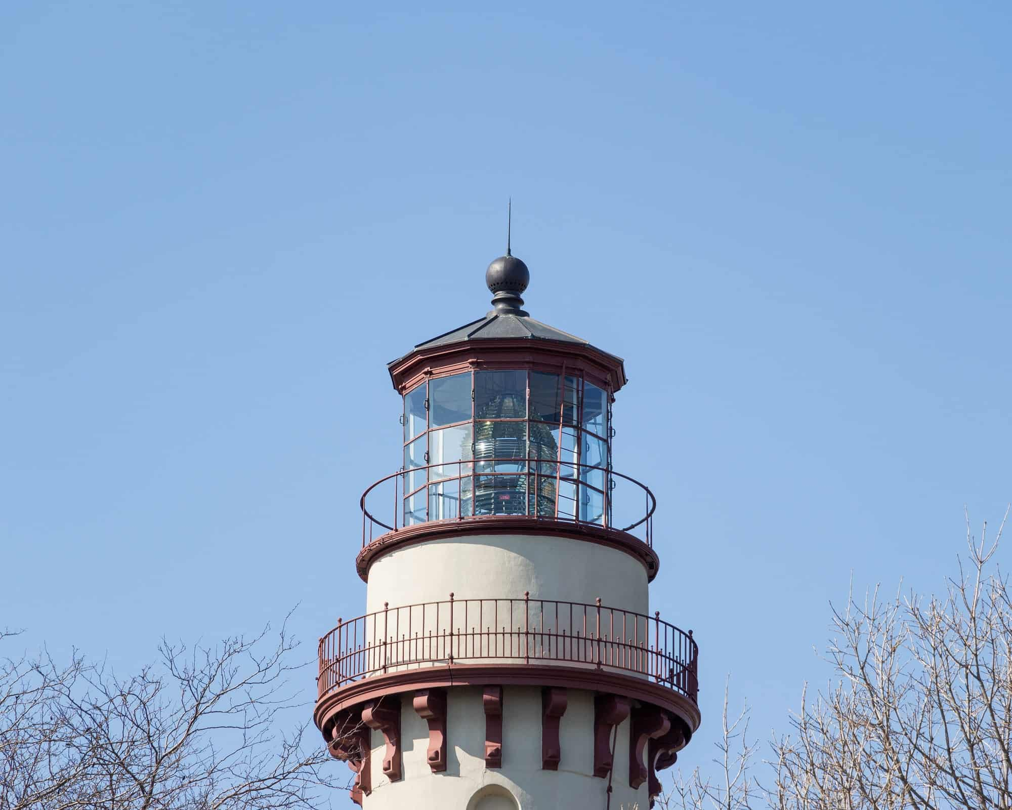 Top of Gross Point Lighthouse