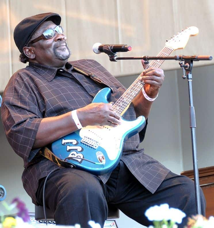 Big Jack Johnson Chicago Blues Festival