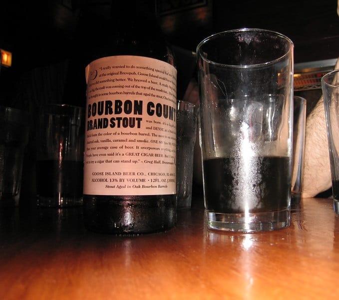Bourbon County Brand Stout bottle