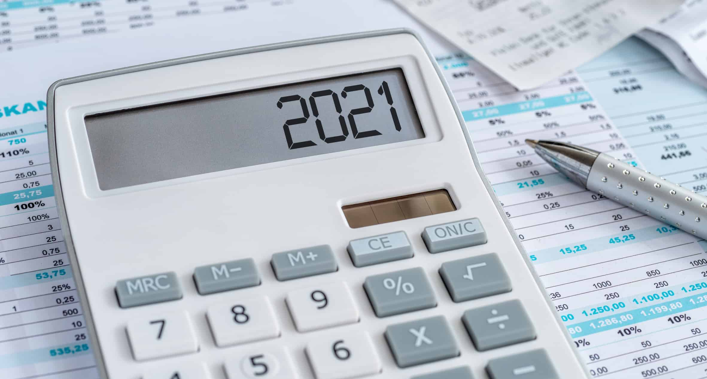 2021 Calculator on financial statements