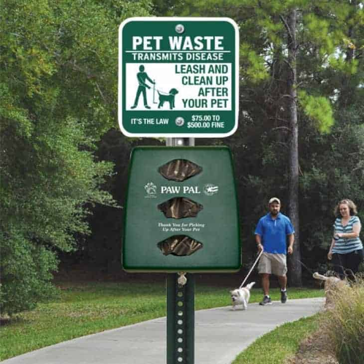 Pet Waste Station for HOA