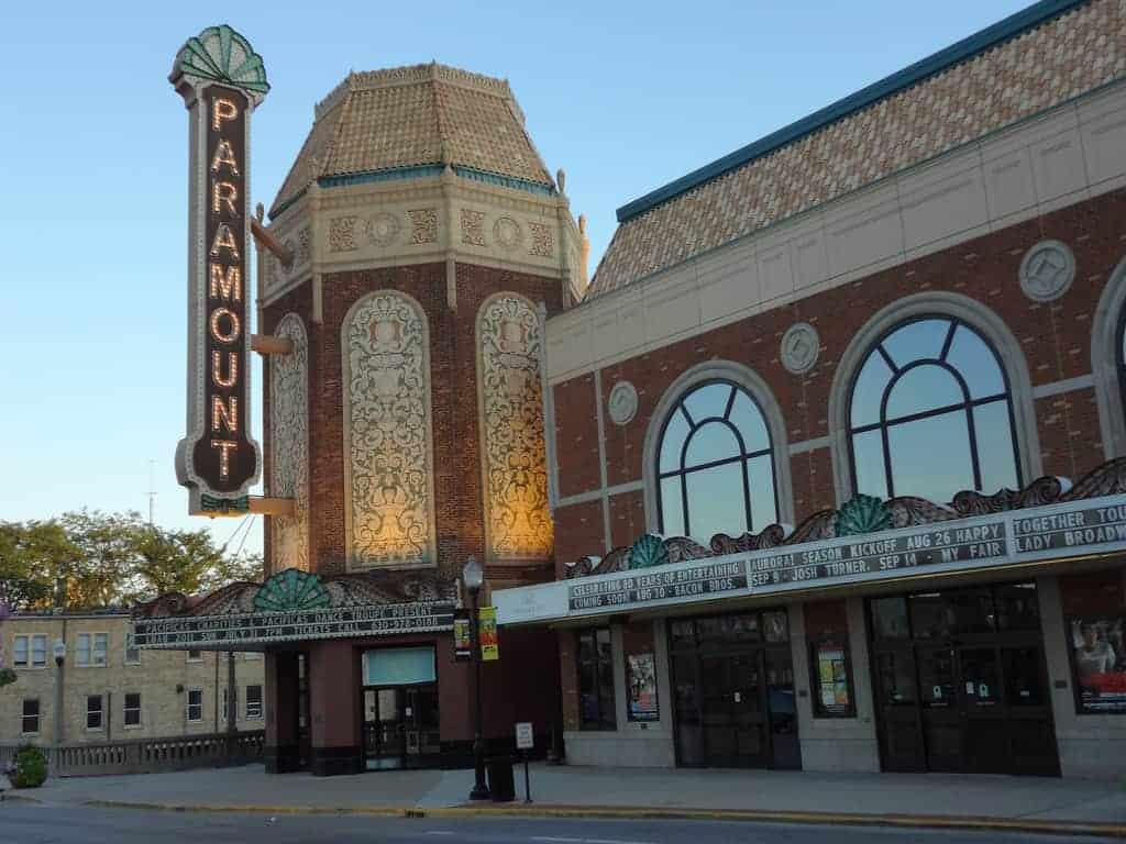 Paramount Theatre in Aurora, IL