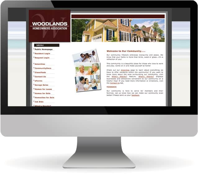 custom websites for homeowners associations from Hillcrest Property Management